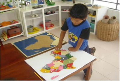 Juego En Familia De Inspiracion Montessori
